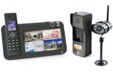 interphone video sans fil 200 mètres de portée