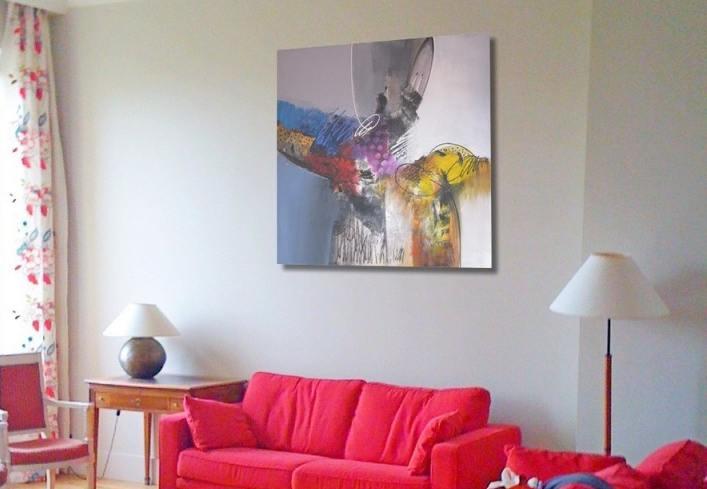 vente en ligne de tableau grand format pas cher. Black Bedroom Furniture Sets. Home Design Ideas